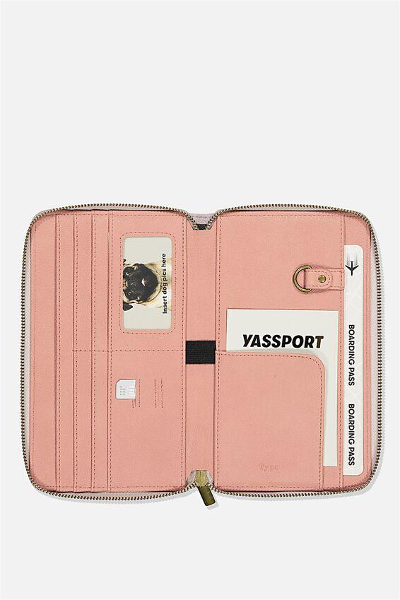 Rfid Odyssey Travel Compendium Wallet, VIOLA