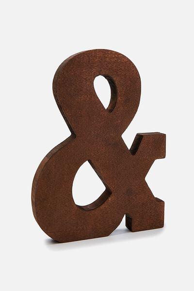 Wooden Symbols White, VINTAGE WOOD &