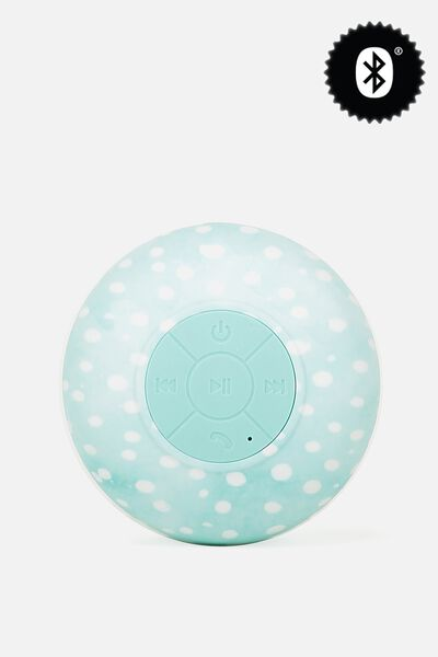 Waterproof Bluetooth Shower Speaker, AQUA POLKA