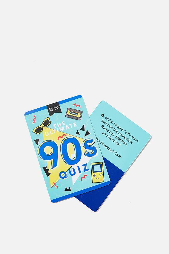 Pocket Trivia Game, 90S TRIVIA
