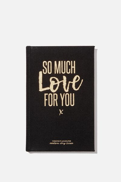 A5 Activity Book, SO MUCH LOVE FOR YOU - WEDDINGS