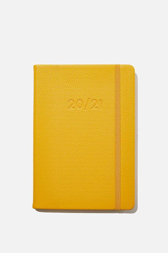 2020 21 A5 Weekly Buffalo Diary, MUSTARD