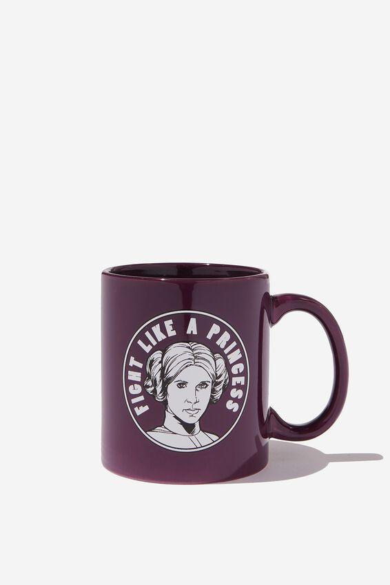 Star Wars Mug, LCN LU PURPLE LEIA
