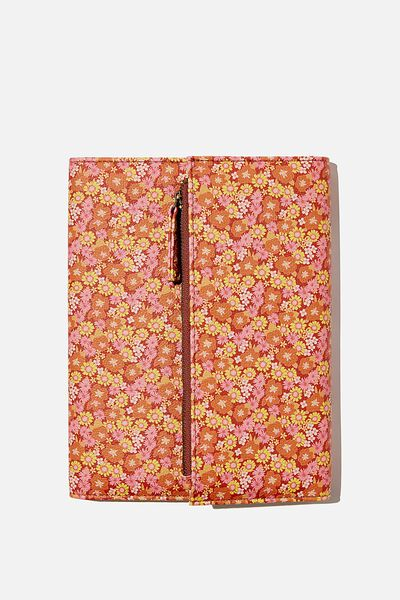 2021 Zip Pocket Diary, JONI FLORAL RUST