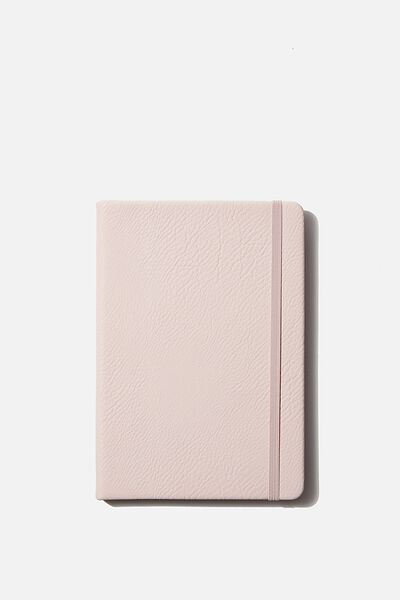 A5 Dot Buffalo Journal, PEBBLED BLUSH