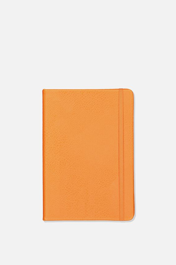 A5 Dot Buffalo Journal, ORANGE RUST