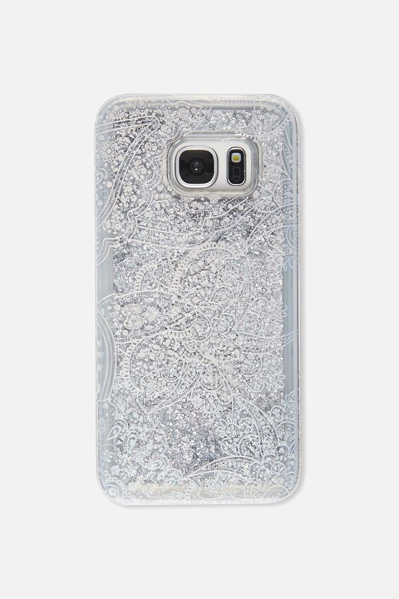 Shake It Phone Case S7, HOLOGRAPHIC LACE