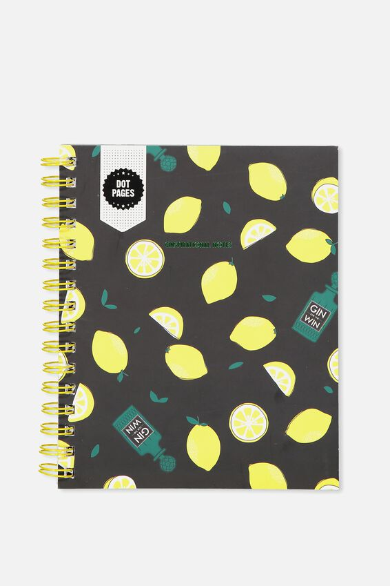 A5 Campus Notebook Dot Internal, GIN & TONIC!