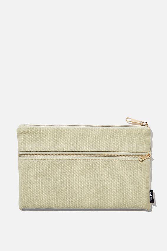 Archer Pencil Case, DRYLAND
