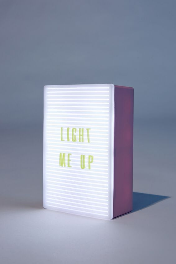 Micro Light Box, HEATHER & MENTHE
