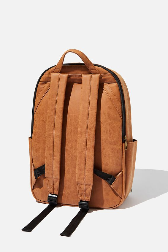 Formidable Backpack, MID TAN CORRUGATED