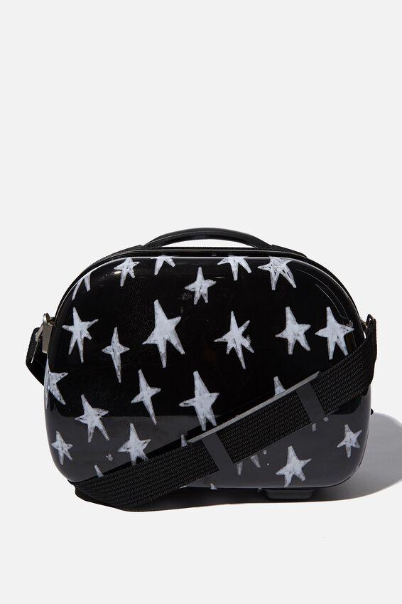 Vanity Cosmetic Case, STAR PRINT