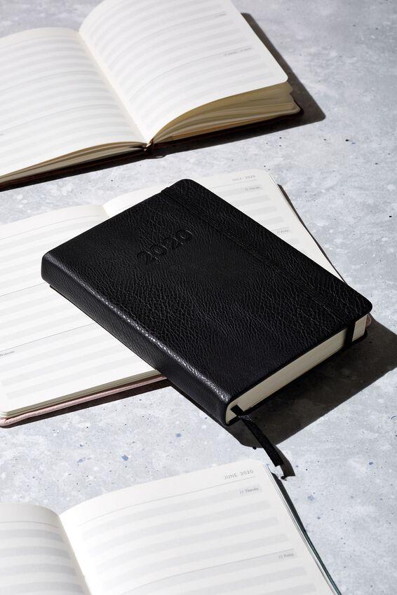 2020 A6 Weekly Buffalo Diary, BLACK