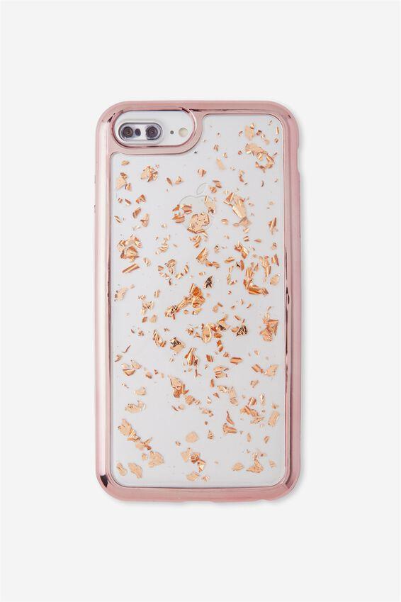 The Superior Phone Cover 6,7,8 Plus, ROSE GOLD FOIL