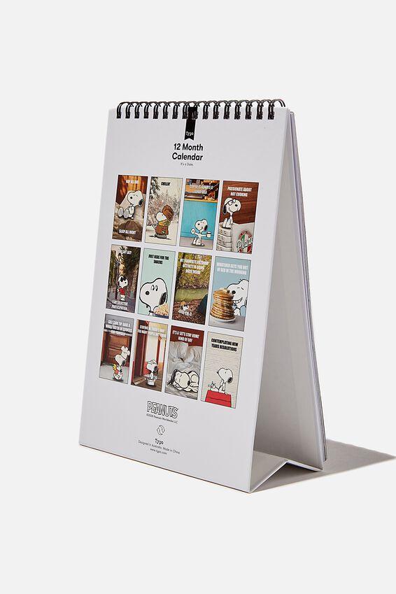 2021 Get A Date Flip Calendar, LCN PEANUTS