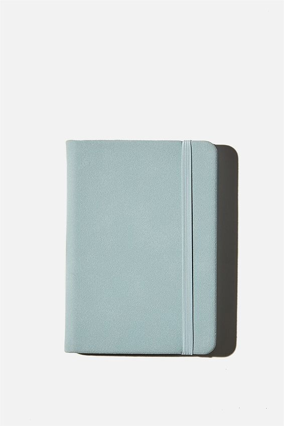 A6 Buffalo Dot Journal, HYAOINTH BLUE