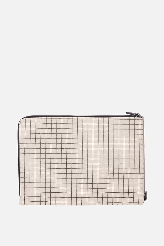 Document Wallet, PLAIN GRID