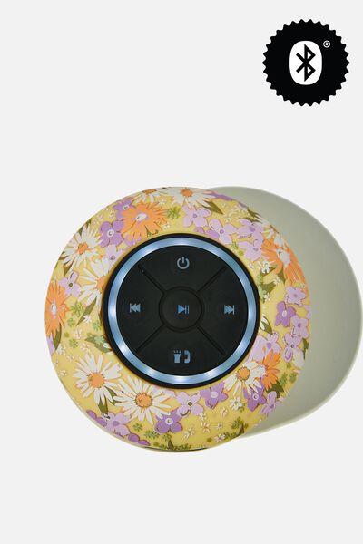 Wireless Led Shower Speaker, PASTEL 70S DITSY 2.0