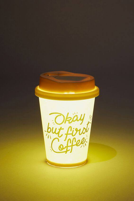 Small Novelty Light, COFFEE CUP