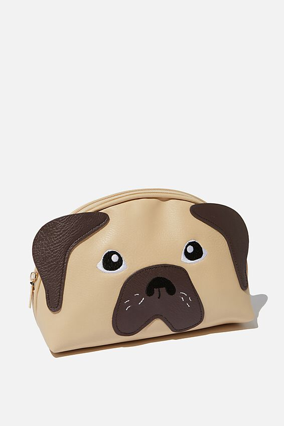 Novelty Cosmetic Bag, NUEVO PUG