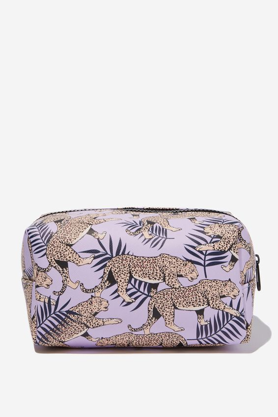 Made Up Cosmetic Bag, TIGER PRINT