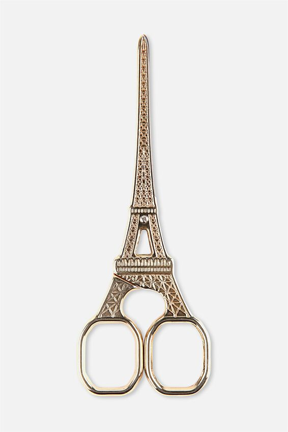 Eiffel Scissors, GOLD