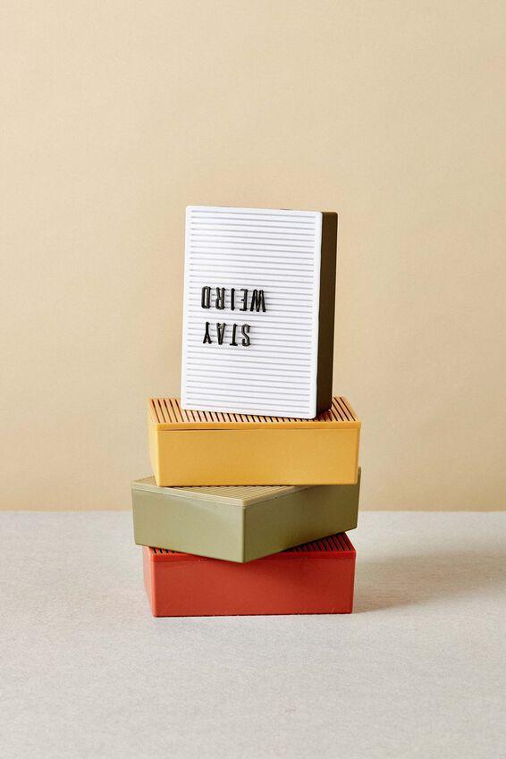 Micro Light Box, RUST