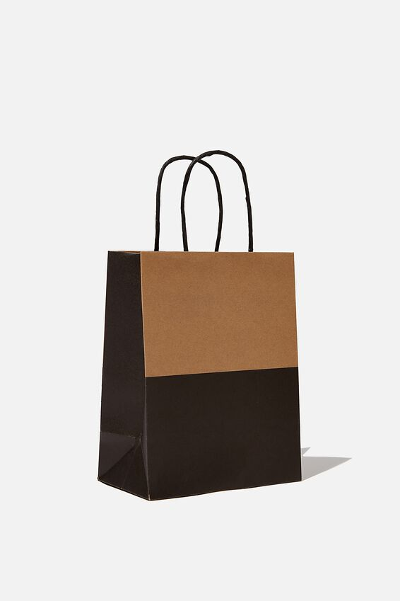 Get Stuffed Gift Bag - Small, CRAFT BLACK SPLICE