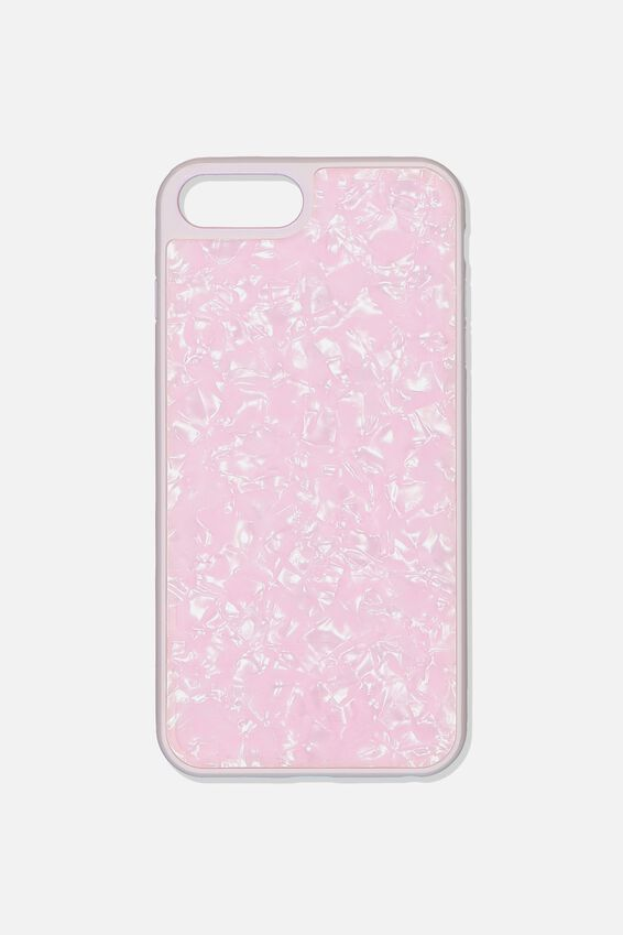 Snap On Protective Phone Case 6, 7, 8 Plus, BLUSH PEARL