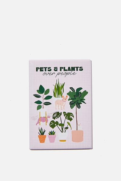 Quirky Magnets, PETS AND PLANTS