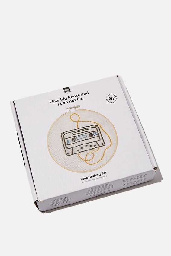 Embroidery Kit, MUSIC