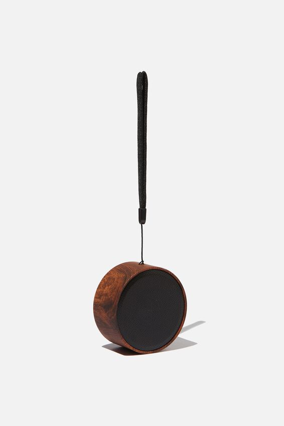 Wanderer Wireless Speaker, DARK WOODGRAIN