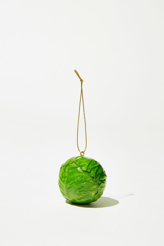 Christmas Ornament, BRUSSEL SPROUT