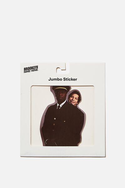 Jumbo Sticker, LCN UNI BR BROOKLYN JAKE