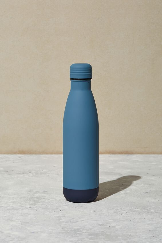 Metal Drink Bottle, PETROL BLUE