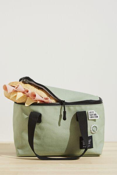 BYO Lunch Bag, GUM LEAF