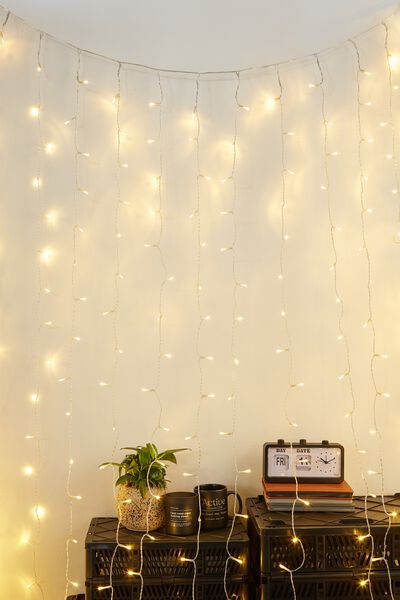 Usb Extra Long Curtain Lights, WARM LIGHT
