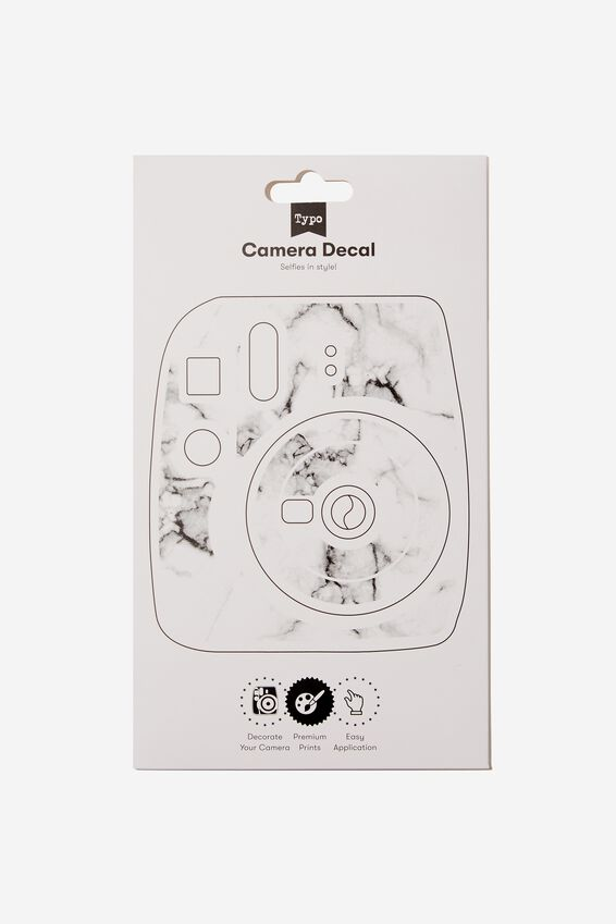 Camera Decal, MARBLE