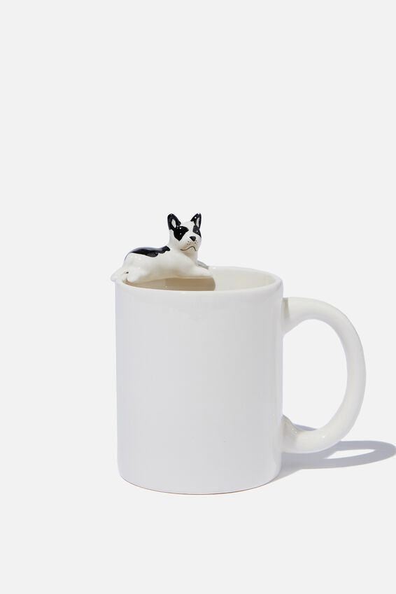 Novelty Shaped Mug, MINI FRENCHIE