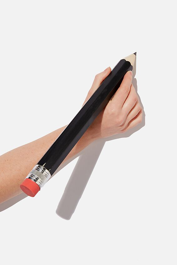 Giant Pencil, BLACK