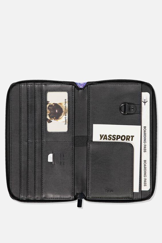 Rfid Odyssey Travel Compendium Wallet, MOON MARBLE
