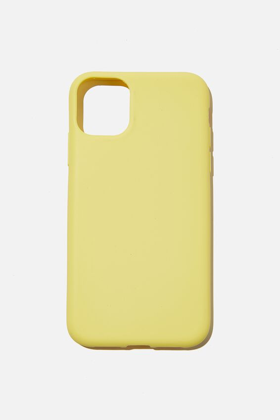 Recycled Phone Case iPhone 11, BUTTERY