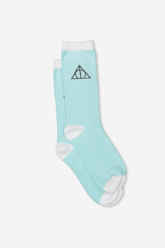 Harry Potter Womens Novelty Socks, LCN HP HALLOWS