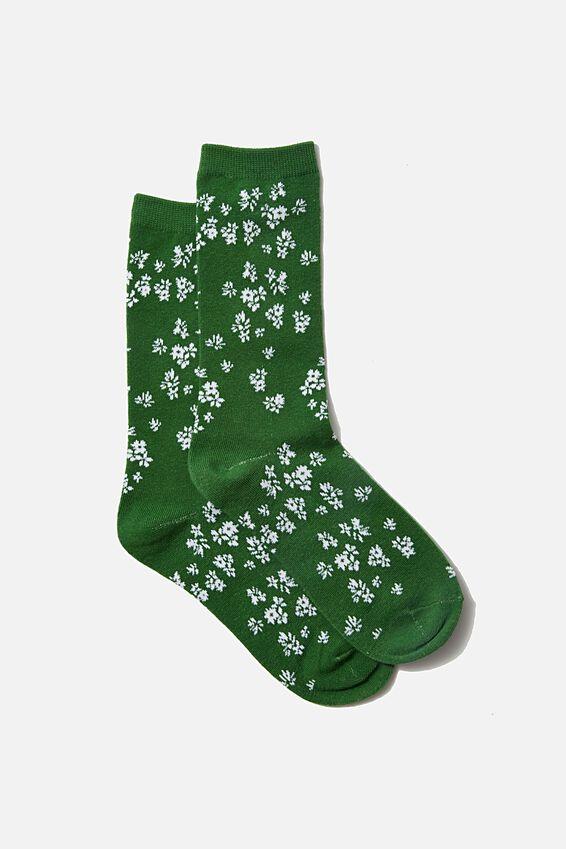 Socks, BASIL DITSY FLORAL