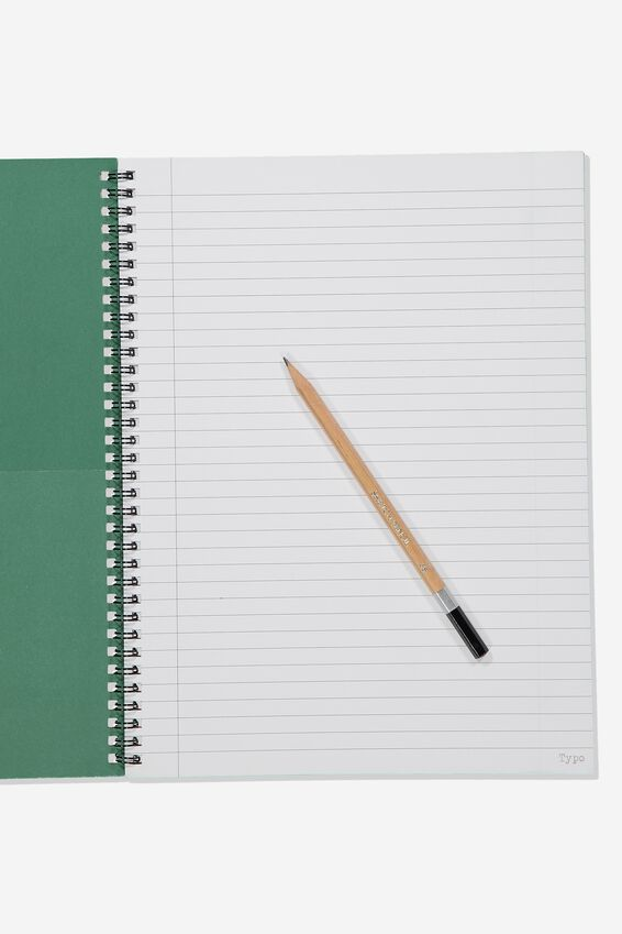 A4 Spinout Notebook - 120 Pages, LCN WB HP SLYTHERIN