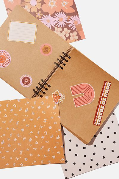 Diy Album Kit 8X8, STEVIE FLORAL