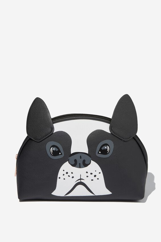 Novelty Cosmetic Bag, FRENCHIE
