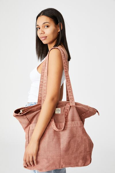The Studio Tote Bag, RUST