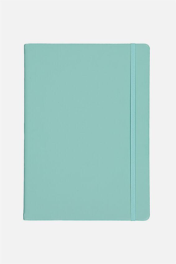 A4 Blank Buffalo Journal, BLUE