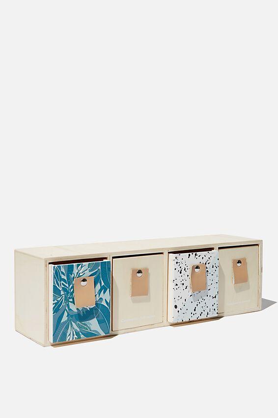 Quick Desk Drawer Storage, HAPPINESS INSIDE